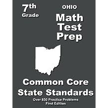 Ohio 7th Grade Math Test Prep: Common Core Learning Standards