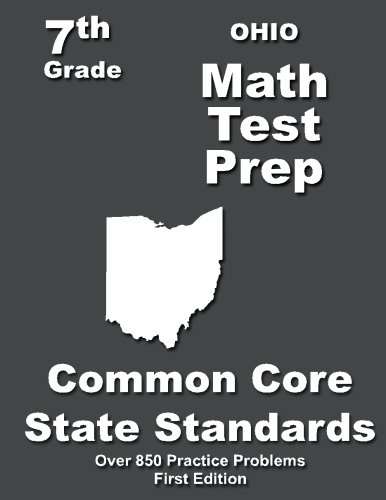 Ohio 7th Grade Math Test Prep: Common Core Learning Standards
