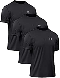 Men's Dry Fit Mesh Athletic Shirts 3 1 Pack