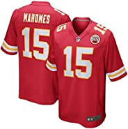 OuterStuff Youth #15 Patrick Mahomes Kansas City Chiefs Game Jersey - Red