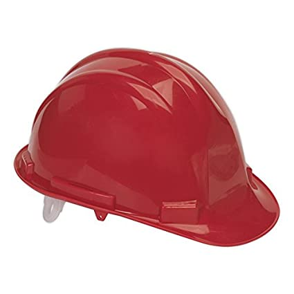 Sealey ssp17 casco de seguridad, color rojo