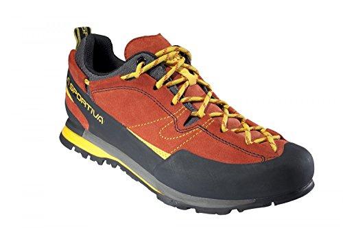 La Sportiva Boulder X - Red - EU 38.5 / UK 5.5 / US M 6.5 / US W 7.5 - Robuster Herren Approach-Schuh