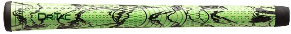 Winn DriTac X Midsize (+1/16'') Green/Black Golf Grips