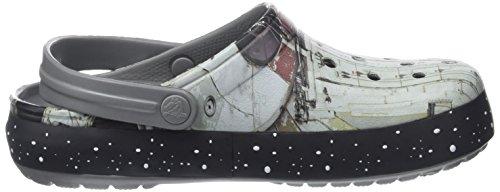 Crocs Crocband Millennium Falcon, Zuecos Unisex Adulto Multicolore (Multi)