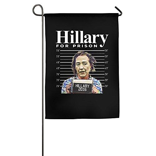 [2016 New Hillary For Prison Summer Bullseye Flag For Home Garden Party] (Prison Halloween Costumes)
