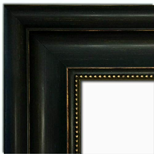 West Frames Montreal Distressed Black and Gold Wall Picture Frame (30
