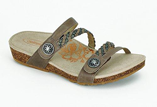 Janey Braided Slide - Aetrex Footwear