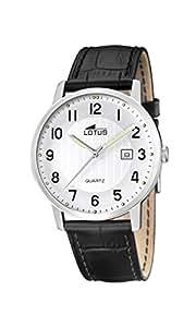 Lotus 15620/1 - Reloj de pulsera hombre, Cuero, color Negro