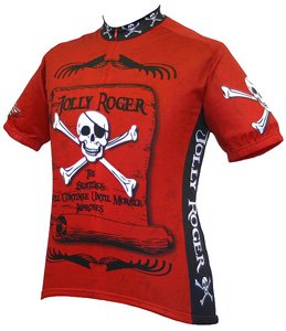 - Jolly Roger Pirate Cycling Jersey