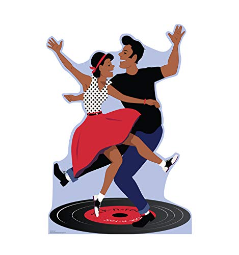 Advanced Graphics 50's Dance Couple Life Size Cardboard Cutout Standup -
