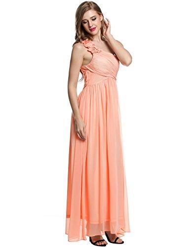 ANGVNS Damen Kleid Nude GsEGnOjO - spikes.allesgebentv.de