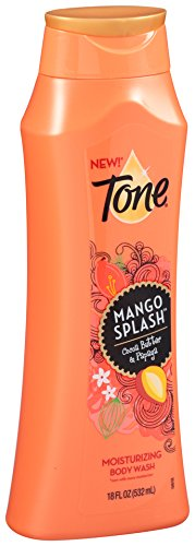 Mango Bar Soap Splash Tone - Tone Body Wash, Mango Splash, 18 Ounce
