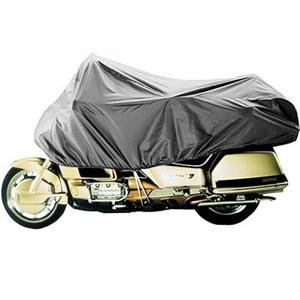 Grey Dowco Guardian 26014-00 Travel Ready Water Resistant Premium Motorcycle Half Cover Cruiser and Touring