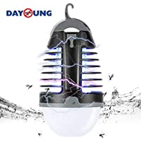 Creatime 2 in 1 Camping Lantern Bug Zappe LED Lantern...