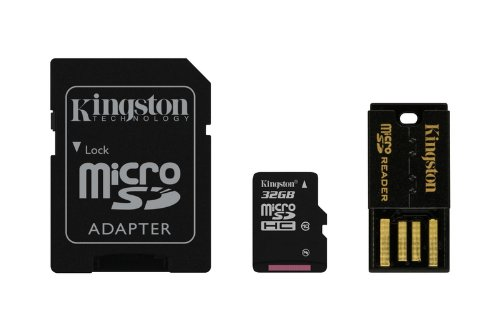 Kingston Digital Mobility Kit Includes 32 GB Flash Memory Card Reader (MBLY10G2/32GB) by Kingston (Image #6)