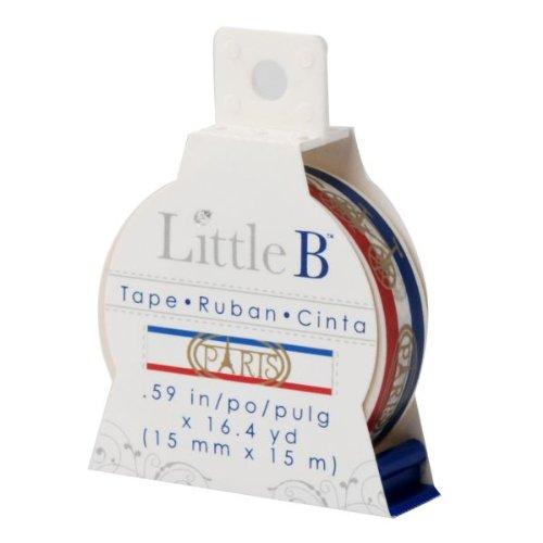 Little B 100055 Decorative Paper Tape, Paris