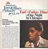 ONE NIGHT IN CHICAGO LP GERMAN TOBACCO ROAD 0 8 TRACK AMERICAN JAZZ AND BLUES HISTORY VOL 179 (B2679)