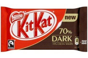 Kit Kat Dark 70% (box of 24)