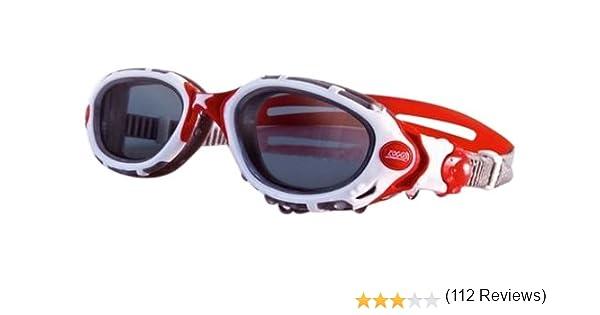 Zoggs Predator Flex - Gafas de natación ahumadas White/Red/Polarised Lens Talla:talla única: Amazon.es: Ropa y accesorios