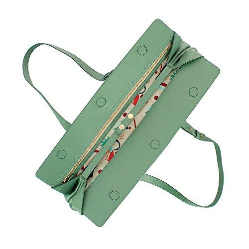 fermeture pour Élégant Sac capacité femme avec DUDU ajustables à poignées Eau grande en souple magnétique cuir bandoulière et Zpfqw