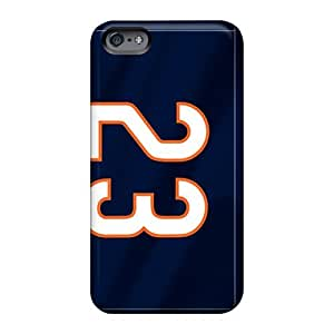 Apple Iphone 6 Plus VIJ479Ihue Support Personal Customs HD Chicago Bears Series Scratch Resistant Hard Phone Case -casesbest88