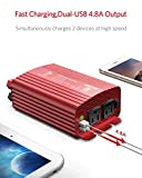 BESTEK 500W Power Inverter DC 12V to 110V AC