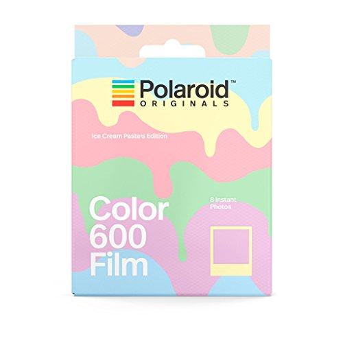 Polaroid Originals 4847 Instant Color Film for 600 – Ice Cream Edition, Pastel