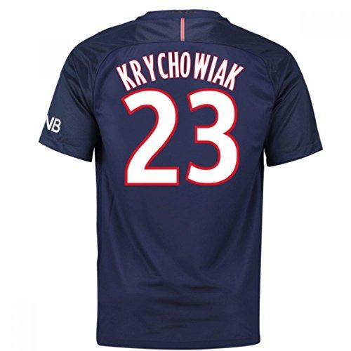 Nike Psg Yth Ss Hm Stadium Jsy - Camiseta Línea Paris Saint Germain para niño Krychowiak 23