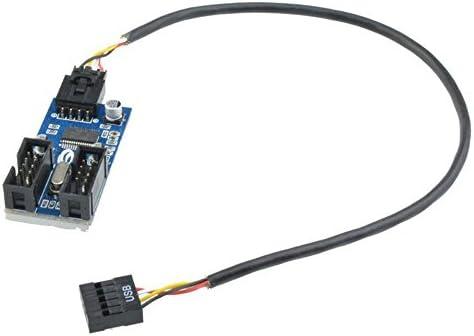Nexhi/® 2 Port USB bracket with 9 pin header USBPLATE