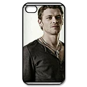 D-PAFD Customized Print Joseph Morgan Pattern Back Case for iPhone 4/4S