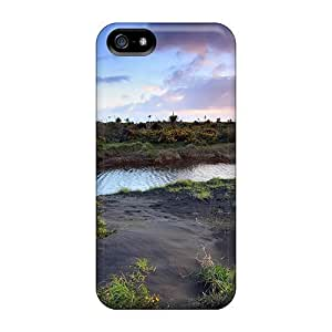 linJUN FENGTpu Shockproof/dirt-proof Wonderful Nature Lscape Cover Case For Iphone(5/5s)