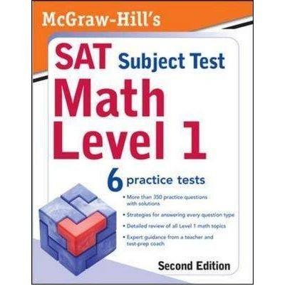 [(McGraw-Hill's SAT Subject Test: Math: Level 1 )] [Author: John J. Diehl] [Mar-2009]