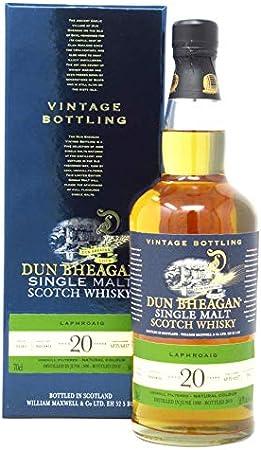 Laphroaig - Dun Bheagan Single Malt - 1998 20 year old Whisky