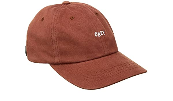 Obey - Gorra Jumble Bar III 6 Panel Rust: Amazon.es: Ropa y accesorios