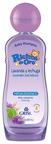 Ricitos de Oro Shampoo, Lavanda Lechuga, 400 ml