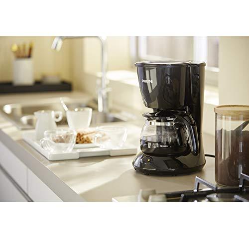 ماكينة تحضير القهوة HD7432 / 20 من المجموعة اليومية من فيليبس، اسود