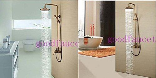 GOWE Bathroom shower faucet antique bronze bathroom shower set faucet mixer tap wall mount shower 1