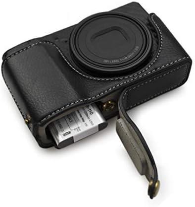 kinokoo RICOH リコウ デジタルカメラ GRIII/GR3専用 本革 カメラケース