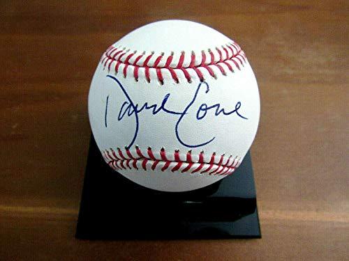 Signed David Cone Baseball - 5 X Wsc Ny Mets Blue Jays Oml Gem - JSA Certified - Autographed Baseballs