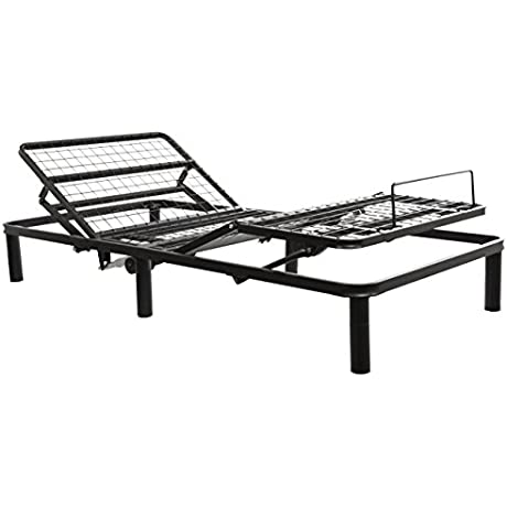 Primo International 12177 Fleet Adjustable Bed Frame Twin XL Black