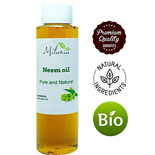 Neem Bug Free Repellent - Premium Organic Neem Oil Virgin, Cold Pressed, 100% Pure Grade A. Excellent Quality. Same Day Shipping (4 Fl. Oz.)