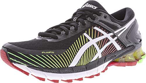 ASICS Men's Gel-Kinsei 6 Running Shoe, Carbon/Copper/Black, 6 M US