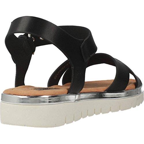 Mtng Sandales Et Tongs Pour Femmes, Couleur Noir, Marque, Modelo Sandales Et Tongs Pour Femmes Black Lady
