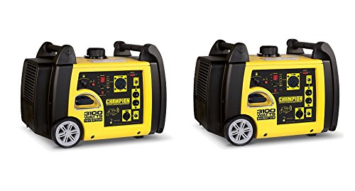 Champion 3100-Watt RV Ready Portable Inverter Generator with Wireless Remote Star