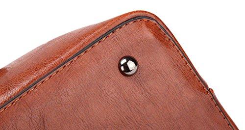 bandoulière nouveau mode tout grande en élégant épaule sac sac sac Kaki mode cuir fourre BZLine Satchel et capacité Sacs main à à Vintage femmes wCZq7C5xt1