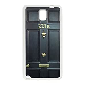 221B Door Cell Phone Case for Samsung Galaxy Note3