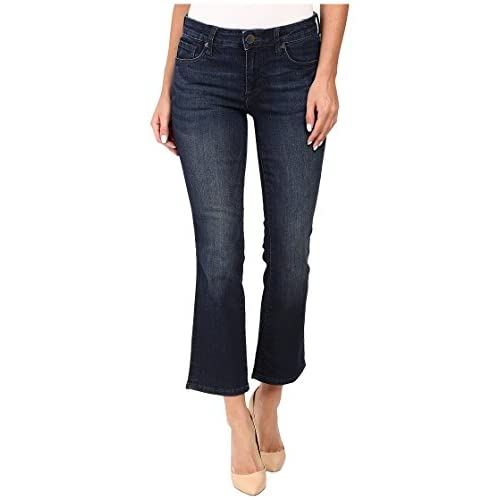 5dc6869b34b lovely KUT from the Kloth Womens Reese Crop Flare Jeans in Security w  Euro  Base