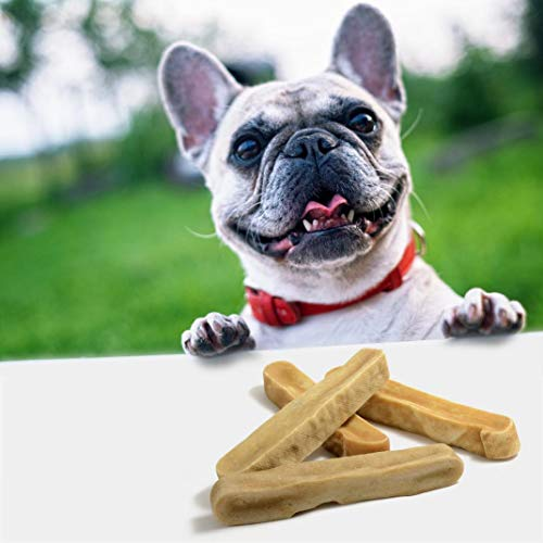 EcoKind Yak Cheese Dog Chews | 1 lb. Bag | Healthy Dog Treats, Odorless Dog Chews, Rawhide Free, Long Lasting Dog Bones for Aggressive Chewers, Indoors & Outdoor Use, Made in The Himalayans