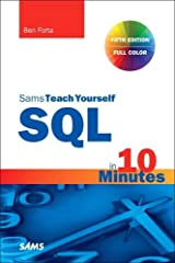 SQL in 10 Minutes a Day, Sams Teach Yourself (5th Edition) Paperback