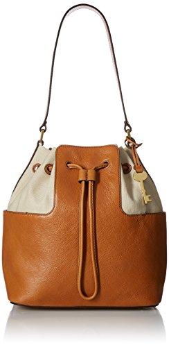 Fossil Cooper Bucket Bag, Tan